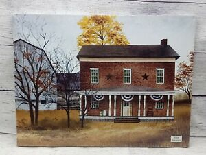 """The Old Tavern House by Billy Jacobs, Canvas Picture, 12""""x16"""", Barn Farmhouse"""