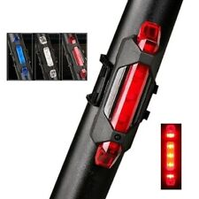 """USB Rechargeable LED Bike Lights """"RED Color Bicycle Tail Lights"""" Bicicle Cycles"""