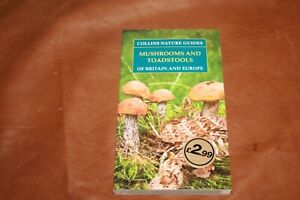 Collins Nature Guide Mushrooms and Toadstools