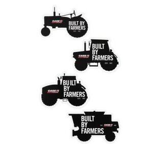 Case IH Built By Farmers Die Cut Equipment Decal Sheet