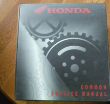 Honda Motorcycle Scooter Atv Pwc Common Service Manual Issued Mar 2004 O578-201