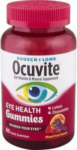 Bausch & Lomb Ocuvite Eye Health Gummies - 60 Count