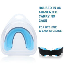 Adults Mouth Guard W/Case Boxing Basketball Gel Gum Teeth Protector Mouthpiece