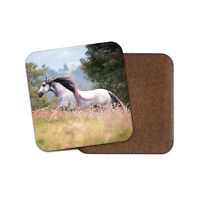 Pure Spanish Horse Coaster - Andalusian Spain Pony Equestrian Kids Gift #12473