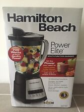 Blender Countertop Smoothie Maker Multi-Function 40 oz Glass Jar Hamilton Beach