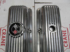 69-77 Corvette Camaro NEW exact  LT1 Z28 FINNED ALUMINUM VALVE COVERS 302 350