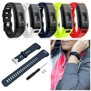 For Garmin Vivosmart HR Replacement Wrist Silicone Band Bracelet Strap + Tool