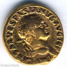 Vespasiano  Aureo Lyon 68 al 79 D.C. Oro @@ Bello Ejemplar @@