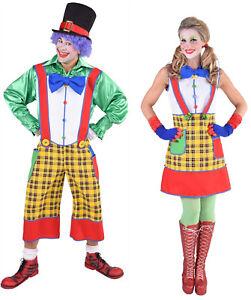 Clown Latz Hose Harlekin Kostüm Kleid Kasper Clownhose Clownkostüm Latzhose Hut