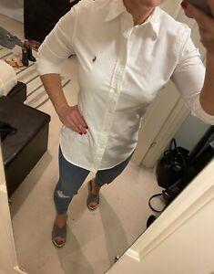 Ralph Lauren womans white shirt - Size S