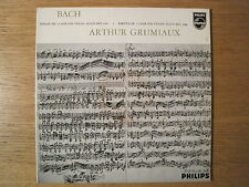"ARTHUR GRUMIAUX ""Bach: Sonata & Partita no 3 for Violin Solo"" Philips LP"