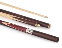 Powerglide Professional Statesman 3/4 Ash & Ebony Snooker Cue & Soft Sleeve