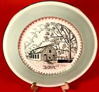 DONEGAL PRESBYTERIAN CHURCH PLATE & WITNESS TREE DONEGAL SPRINGS PA VINTAGE