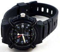 Casio HDA600B-1BV Men's 100M Analog Watch Sports Date Display 10 Year Battery
