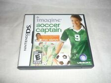 Imagine: Soccer Captain (Nintendo DS, 2009)    COMPLETE