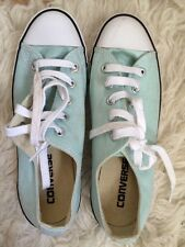 Converse Turquoise White Blue Green Shoes Converses