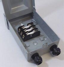 Solar Pass Thru Box - Fused - 2/3-String Solar Power Pass Thru Fuse Holders