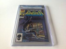 PUNISHER LIMITED SERIES 4 CGC 9.8 WHITE PAGES JIGSAW MIKE ZECK MARVEL COMICS