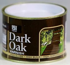 DARK OAK VARNISH HIGH GLOSS Indoor Outdoor Top Coat Painting 180 ml
