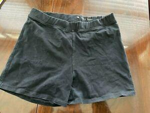 Girl's J Crew Crewcuts Black Tumble Shorts Size 16