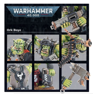 New Orks 10x Boyz Mob New On Sprues With Bases Warhammer 40k