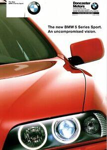 BMW 5 Series Sport E39 Australian brochure 525 530 535 540i V8