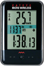 CATEYE MICRO--CC-MC200W WIRELESS BLACK BICYCLE SPEEDOMETER COMPUTER