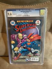 Superman Unchained #3 (Starlin Variant Cover) CGC 9.6 KEY ISSUE Comic Book Slab