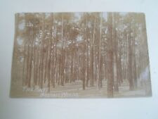 BOSTALL WOODS, The Pines Vintage RPPC  Franked+Stamped c1909   §A2269