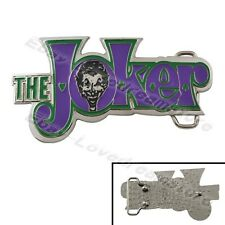 Funny Batman The Joker Removable 11.5cm Metal Belt Buckle New