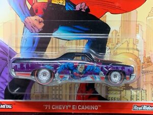 Hot Wheels Pop Culture DC Comics Superman '71 Chevy El-Camino 2017