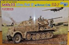 Dragon 6542 Smart Kit 1 35  3,7cm Flak 37 w/Armor Cab  2 in 1