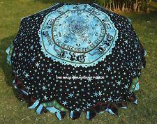 Indio Astrología Mandala Jardín Paraguas Colorido Parasol Patio Exterior Parasol