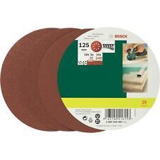 Set de feuilles abrasives pour ponceuse excentrique Bosch 2607019497 *NEUF*