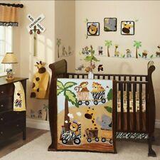 Lambs & Ivy Safari Express 13 Piece Crib Set