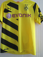 Borussia Dortmund 2014-2015 Home Football Shirt Size Large /40500