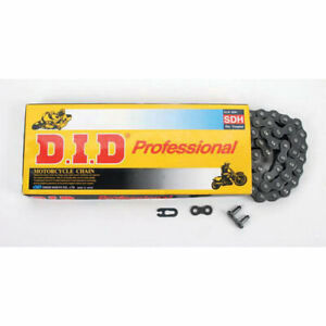 DID 530 NZ Pro Heavy Duty Black (RAW) 120 Links Clip Link Motorcycle Chain