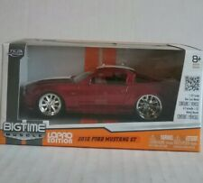 Jada Big Time Muscle 1:32 Die Cast 2010 Ford Mustang GT LoPro Edition