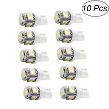 10PCS Bombillas T10 W5W LED SMD 5630 COCHE Blanco CANBUS Posicion interior 6000K