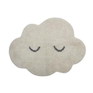 Bloomingville Teppich Wolke cremeweiß