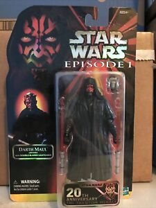 Star Wars Black Series Darth Maul Celebration Exclusive 20th anniversary