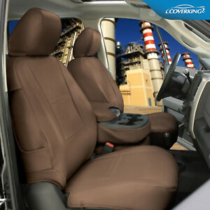 Rhinohide PVC Heavy Duty Synthetic Leather Seat Covers for Nissan Titan XD