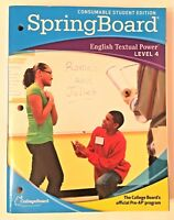 SpringBoard English Textual Power LEVEL 4 CollegeBoard Consumable Student Pre-AP