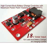 MPPT solar panel controller 3A lithium li-ion 18650 battery charging module NTJC