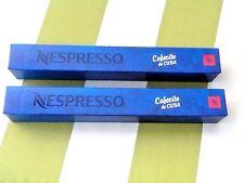 Nespresso Cafecito De Cuba 2 Sleeves 20 Capsules    NWOT