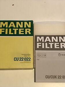 Mann CU22022 Cabin Filter For Fiat