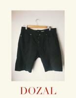 H&M Slim Fit Men's Shorts sz 34 Preowned euc Black