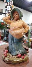 Tom Clark sculpted figurine Apple Annie Vintage Retired 1983