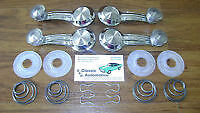 Window Cranks Handles Washers and Springs 16pc Clear Chevy Olds Buick Cadillac