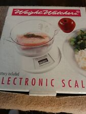 Weight Watchers Electronic Scale. NEW Free Shipping.